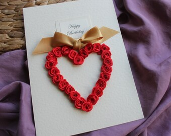 Handmade personalised th anniversary card diamond sixtieth