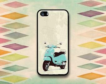 Grunge Vespa Case: iPhone 4 // 4s, 5c or 5 // 5s.