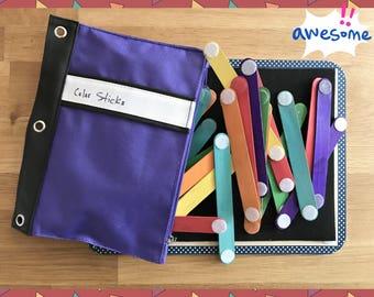 Color Sticks Busy Bag