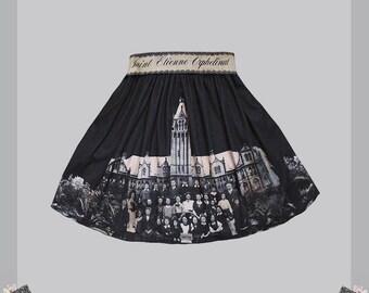 Guro Lolita skirt · Saint Etienne Orphelinat by Violet Fane · Jersey Skirt