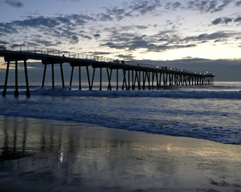 Hermosa Beach Pier Photo 8x10
