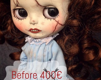 OOAK Custom Blythe Doll *AMBER* Antique Doll