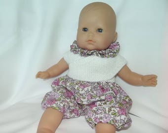 Doll bloomers, collar, heart-warmer 36 cm