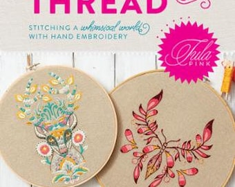 Coloring with Thread - Tula Pink - TP_EMB_BOOK