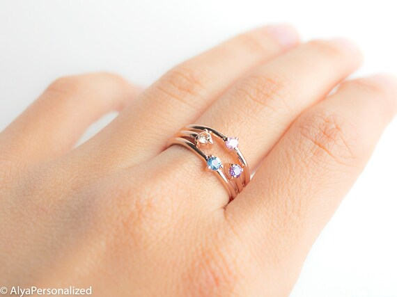 Mothers birthstone ring mothers rings birthstones aloadofball Images