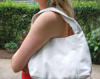 Handbag from Jimmy Choo / Vintage Bright White Bag in never used condition
