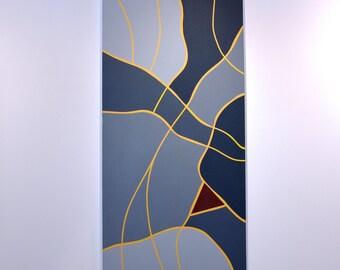 Zeitgeist 4 - original contemporary painting of acrylic on canvas