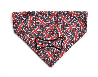 Union Jack Flag GB Dog Neckerchief
