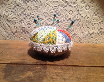 PIn Cushion with Decorative pins