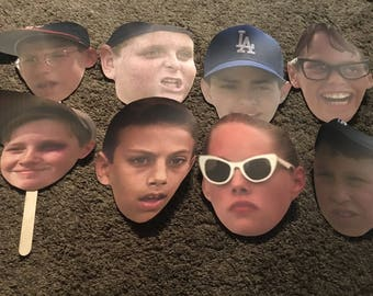 The Sandlot Character Faces