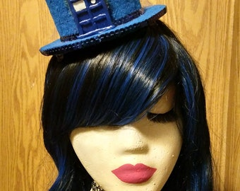 Doctor Who Inspired Mini Top Hat with TARDIS