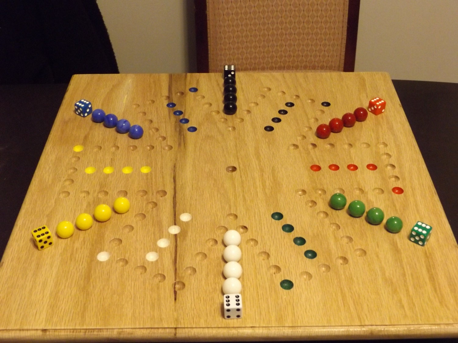 Wooden Aggravation Board Game Wooden Aggravation Board Game Games ...