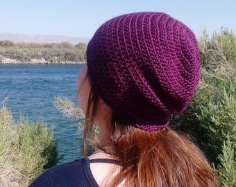 "Basic Crochet Hat - Custom ""You Choose"" Your Color"