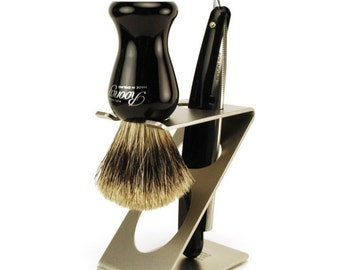 Shaving Stand - Razor and Brush Holder