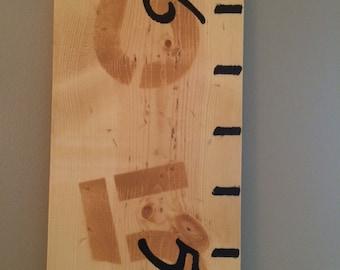 Kid's Measuring Wall Ruler