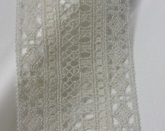 Silver Lace Trimming French Lace, Alencon Lace, Bridal Gown lace, Wedding Lace, White Lace, Veil lace, Garter lace, Lingerie Lace IT1252