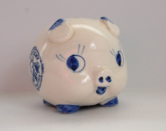 Vintage Piggy Bank, Kentucky Souvenir, Small Piggy Bank, The Bluegrass State