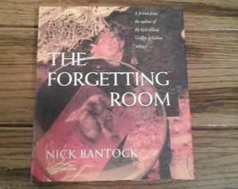 The Forgetting Room Vintage Book Nick Bantock First Edition 1997 Adventure Novel Journey Discover Revenge Alchemy Inheritance