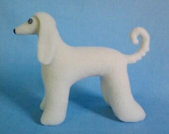 SALE Afghan borzoi dog sewing pattern, Stuffed dog pattern sew, Soft toy sewing pattern, Plush toy sewing pattern, Dog doll sewing pattern