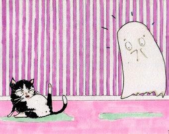 "Paranormal Encounter 5"" x 7"" Print by Jason Edward Davis"