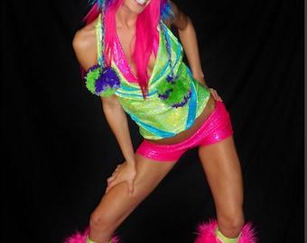WaCkYy WoRlD Rave Dance Costume