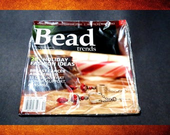 Bead Trends Magazine - Holiday Fashion, Easy Fashion Styles, Ice Resin Focals .  #BOOK-007
