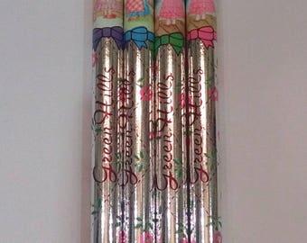 Vintage Green Hills coloring pencils..80s
