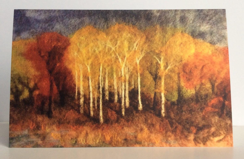 Art Greeting Cards 5x7 Autumn