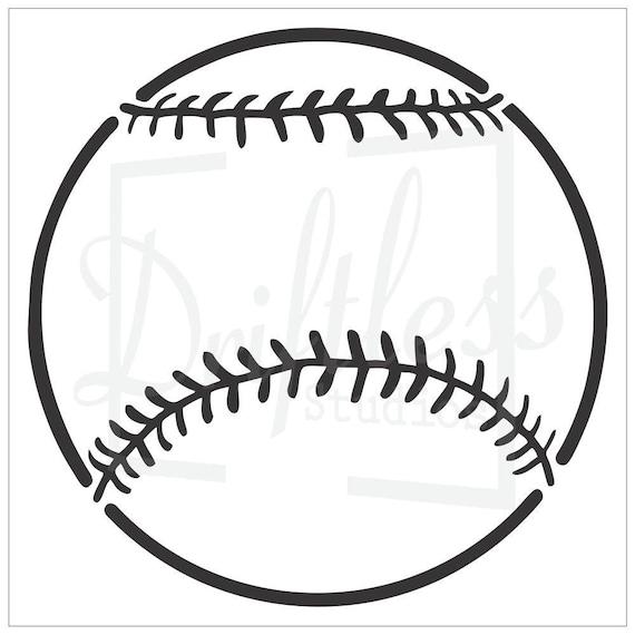 Baseball Stencil Ball Stencil Kids Room Stencil Nursery