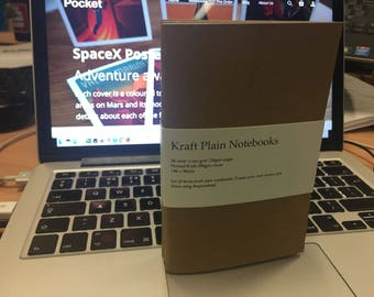 Plain Kraft Notebooks