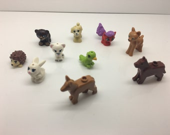 Lego Lot Of Animals Bunny Deer Bear and More Free US Shipping