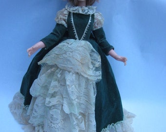 Eegee Gemmette doll, Miss Emerald