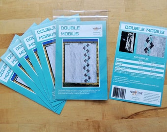 Double Mobius Printed Quilt Pattern by Quilting Jetgirl