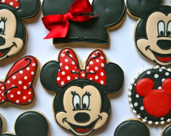 Mickey mouse cookies Etsy