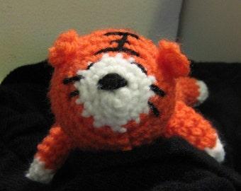 Crochet PDF Pattern- Crochet sleepy tiger