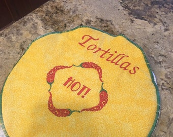 Tortilla warmers  11 1/2in.