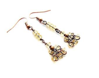 Easy Jewelry Tutorial, Beginner Earrings Tutorial, Jewelry Making Instructions  - tutorial 38