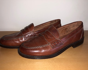 Charles Clinkard Brown Leather Loafers