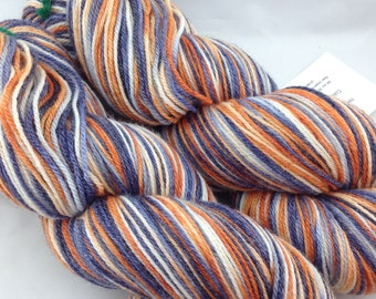 "Superwash Merino/Bamboo/Nylon Hand Dyed Sock Yarn-Hearthside Fibers BaaBoo-""Rivals"""