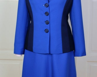 Agent Carter Blue Suit Cosplay Costume
