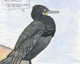 The Neotropic Cormorant