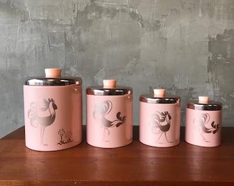 Pink ransburg canister set