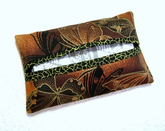 Tissue Holder - Pocket Tissue Holder - Handmade - Tissue - Kleenex - Tissue Holder - Cotton Fabric - TC289
