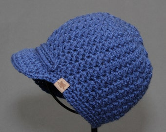 Crochet PATTERN Rainer Newsboy Crochet Newsboy Hat Pattern Newborn to Ladies.
