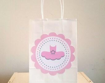 Tutu Goody Bags, Tutu Favor Bags, Tutu Gift Bags, Ballerina Favor Goody Bags - Ballerina Favor Bags, Ballet Favor Bags