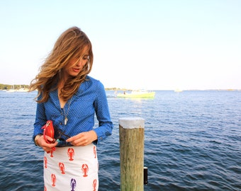 Exclusive Bows & Flows Lobster Rollin' Joy Skirt