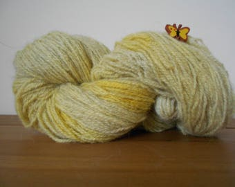 Primrose Yellow Shetland Yarn D.K 100 grams