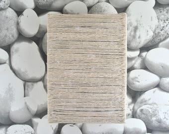 A5 Handmade Paper Journal Notebook - String Cover