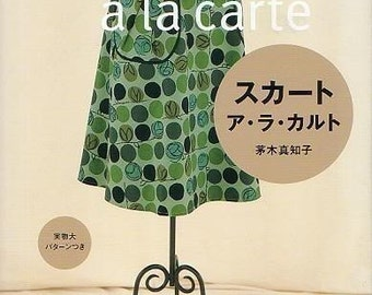 SKIRT A LA CARTE Pattern Book - Japanese Craft Book