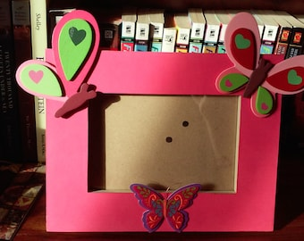 Cute Butterfly Picture Frame